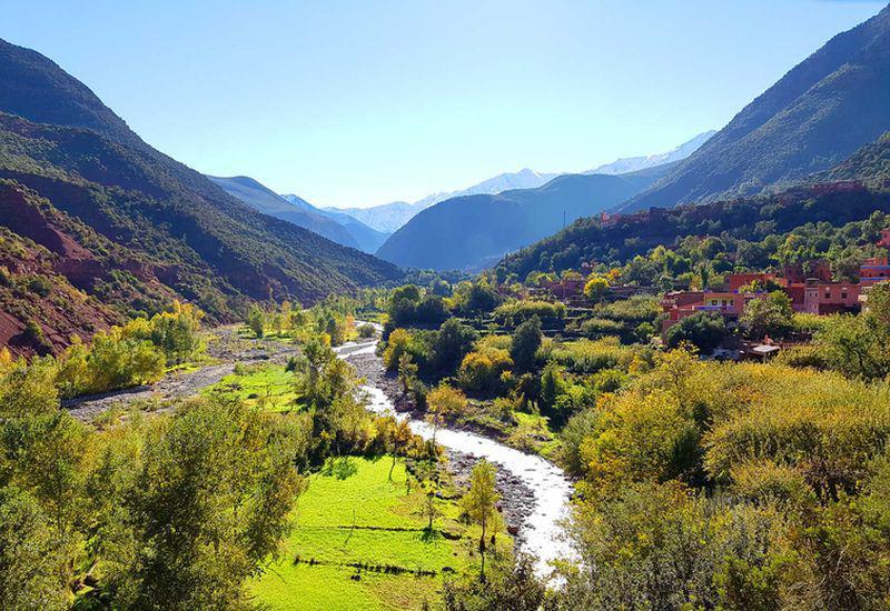 Treking aux Haut Atlas - villages berberes